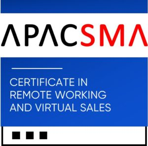 Certificate in Remote Working and Virtual Sales. BADGE